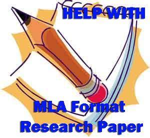 Proper term paper format